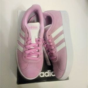 Adidas pink kids shoes - size 13k - new in box.